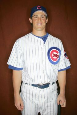 Adam Greenberg #66 of the Chicago Cubs poses during Spring Training Photo Day at Fitch Park on February 24, 2006 in Mesa, Arizona.