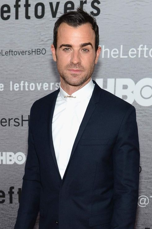 "NEW YORK, NY - JUNE 23:  Actor Justin Theroux attends ""The Leftovers"" premiere at NYU Skirball Center on June 23, 2014 in New York City.  (Photo by Dimitrios Kambouris/Getty Images)"