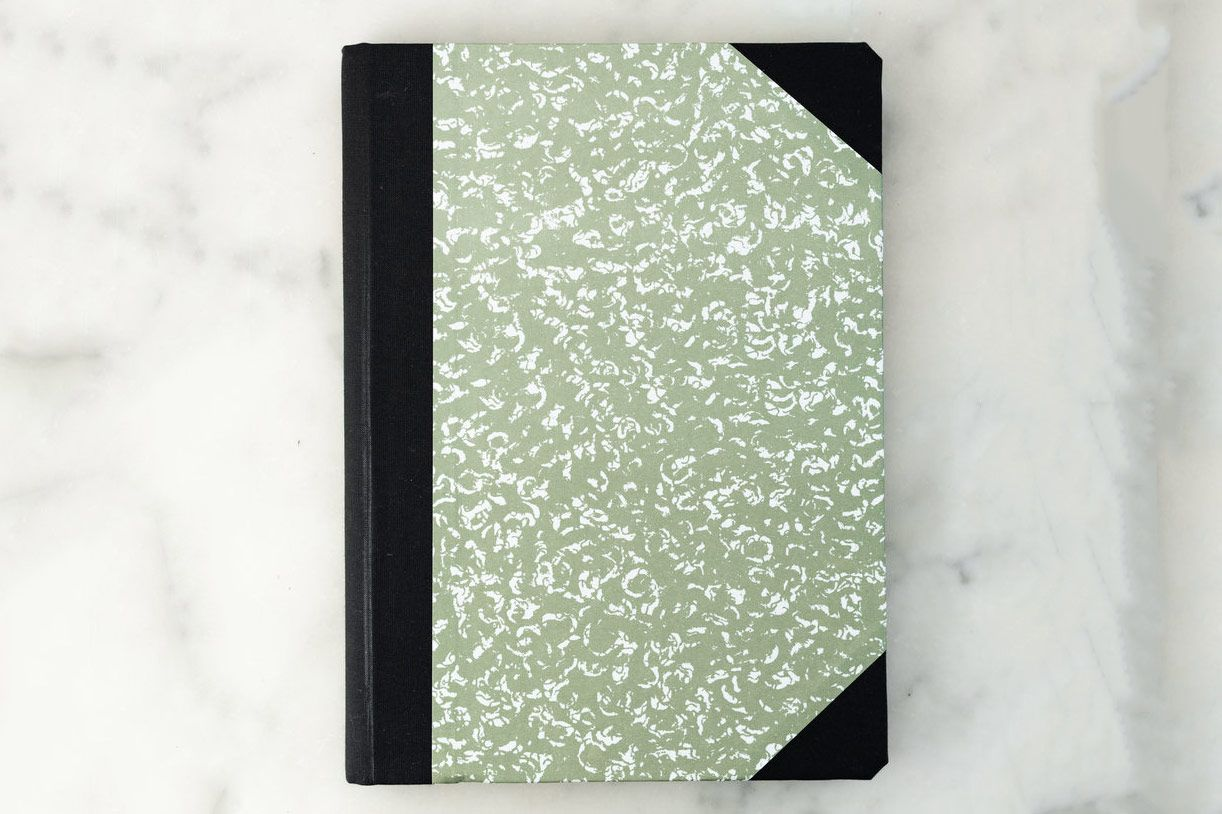 Emilio Braga Marbled Notebook