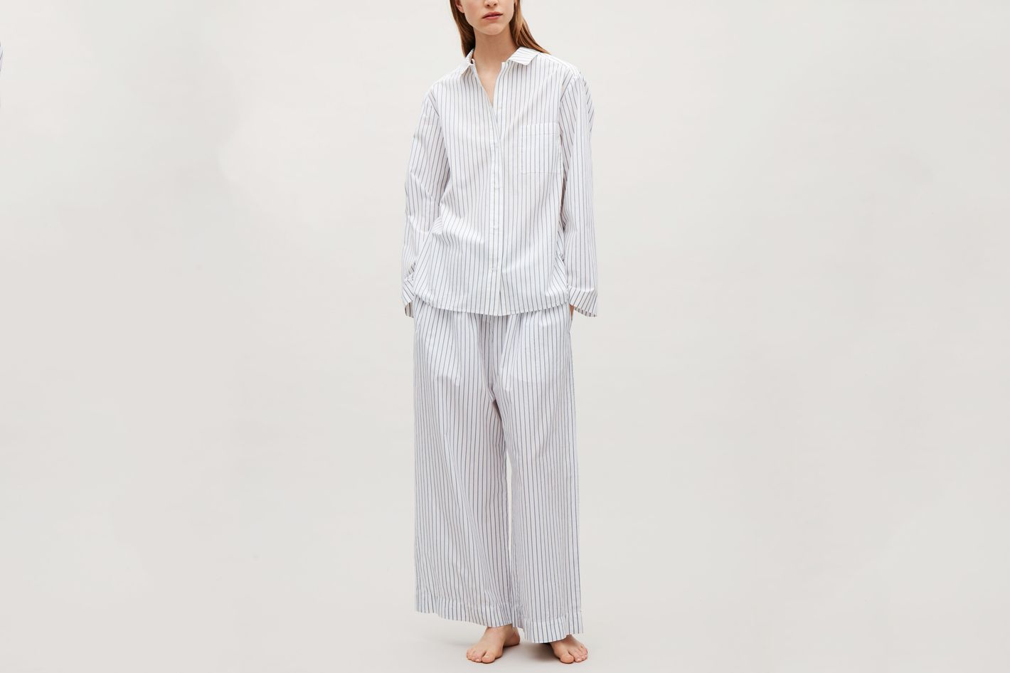 bd2eb34857 Striped Pajama Shirt