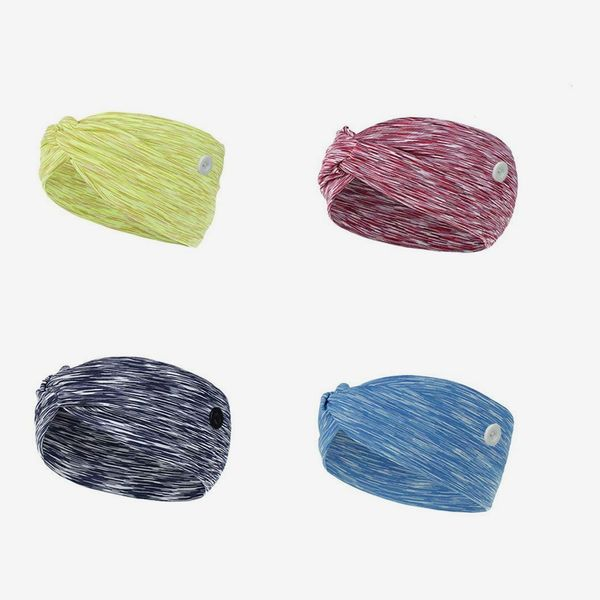 YONUF Headbands, Pack of 4