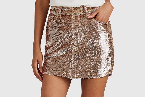 IRO Obospe Embellished Miniskirt