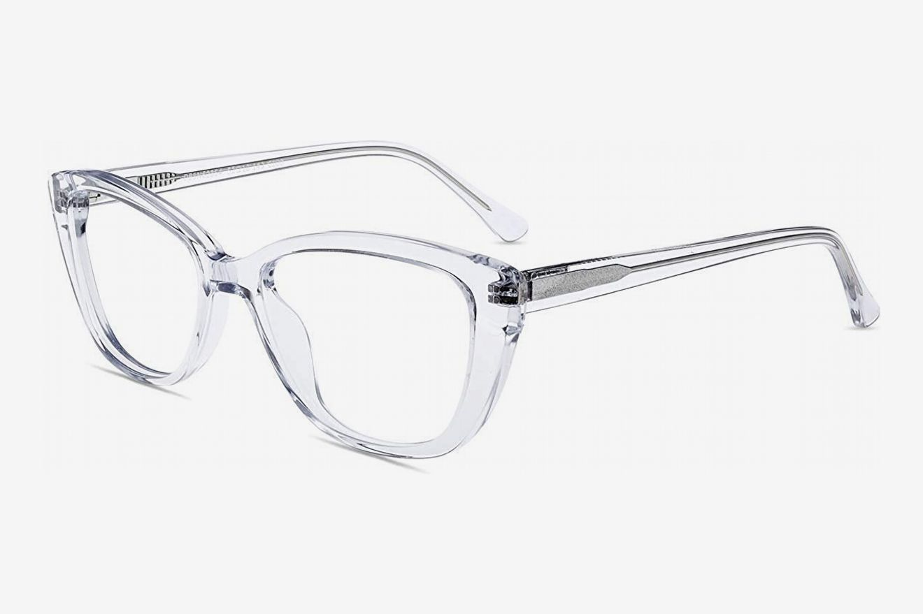 11960c7229 Firmoo Anti-Blue Light Computer Reading Glasses Vintage Cateye with  Magnifaction