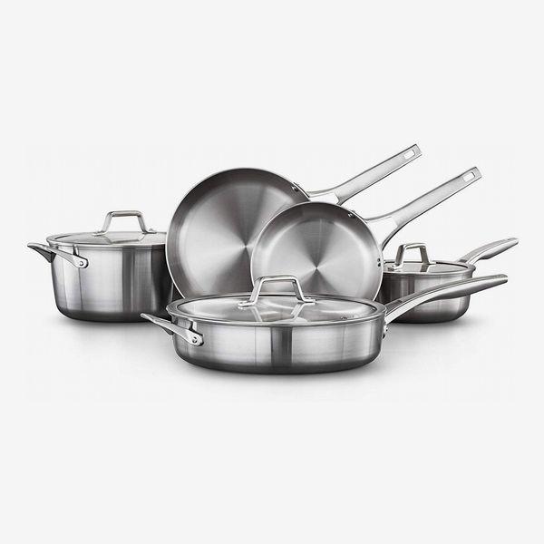 Calphalon Stainless Steel 8-Piece Cookware Set