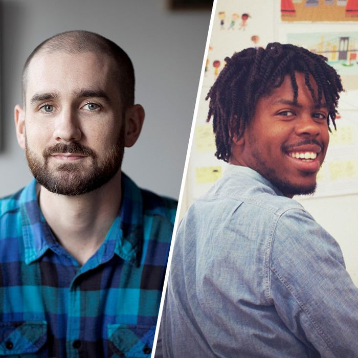 Oliver Jeffers, Peter Brown, and Christian Robinson.