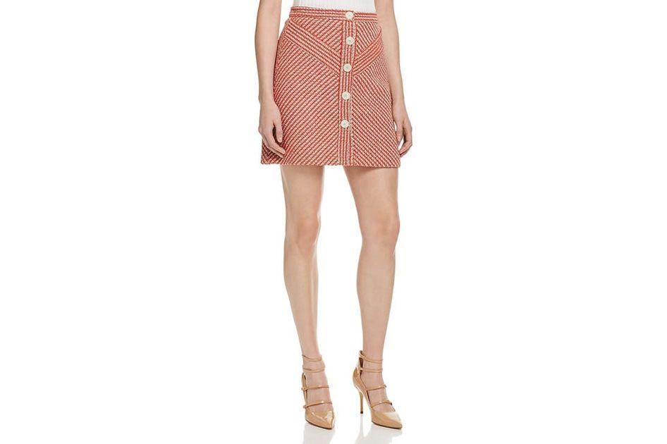 Maje June Tweed Skirt