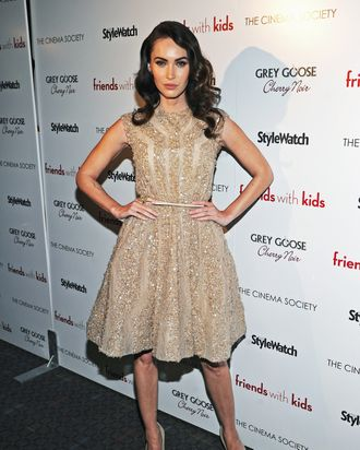 Actress Megan Fox attends the Cinema Society & People StyleWatch with Grey Goose screening of