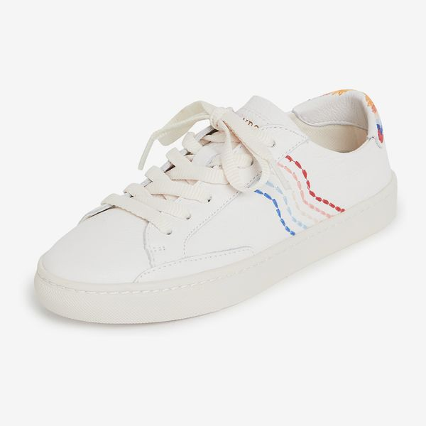 Soludos Retro Stripe Sneakers