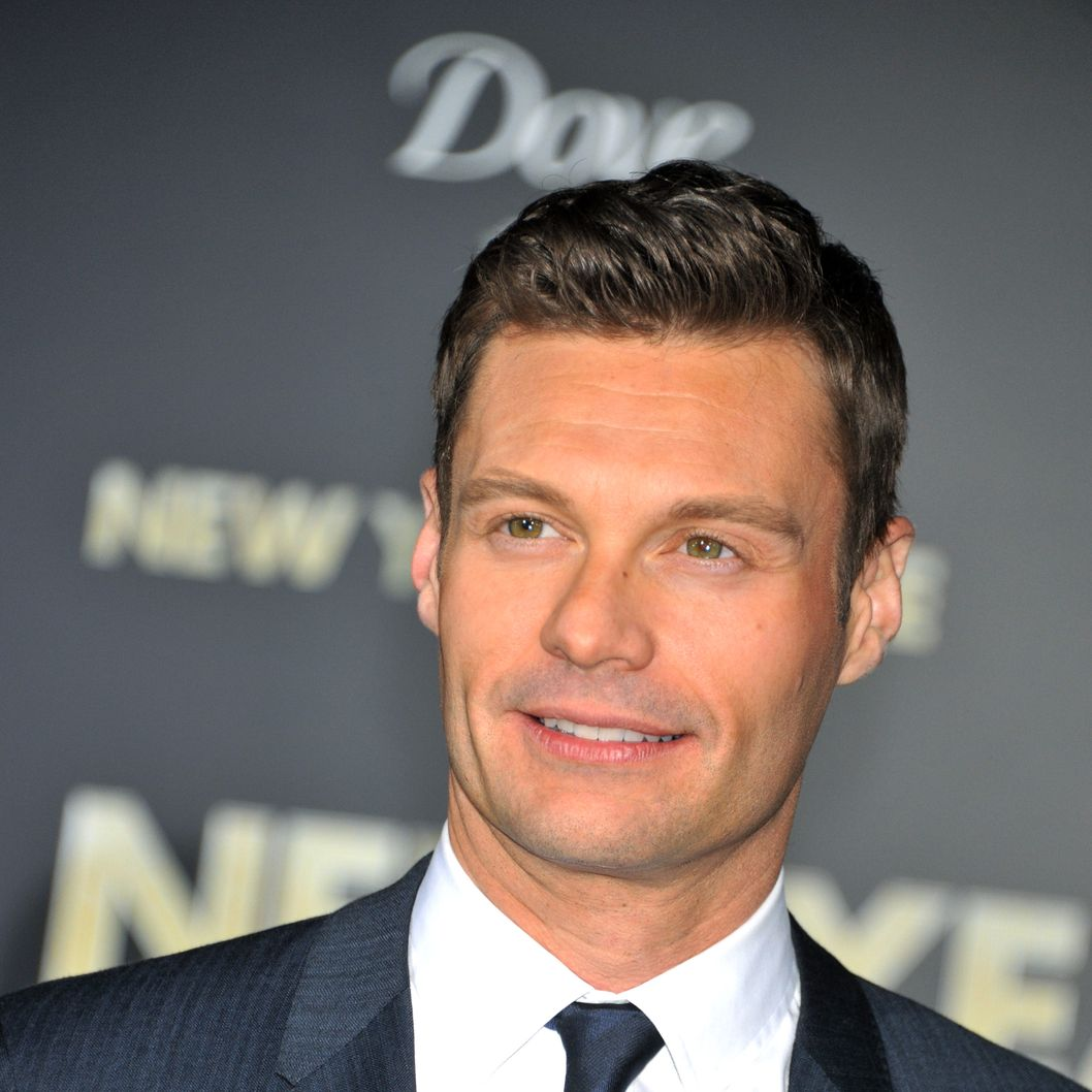"TV personality Ryan Seacrest arrives at the premiere of ""New Years Eve"" held at Grauman's Chinese Theater in Hollywood."