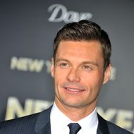 """TV personality Ryan Seacrest arrives at the premiere of """"New Years Eve"""" held at Grauman's Chinese Theater in Hollywood."""