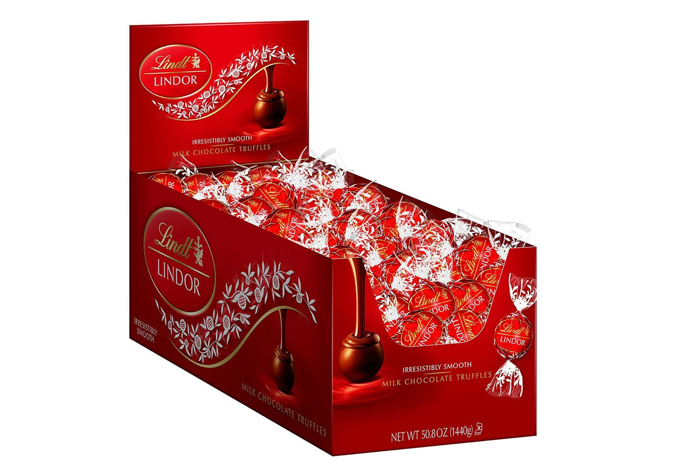 Lindt Lindor Milk-Chocolate Truffles, 120 Count