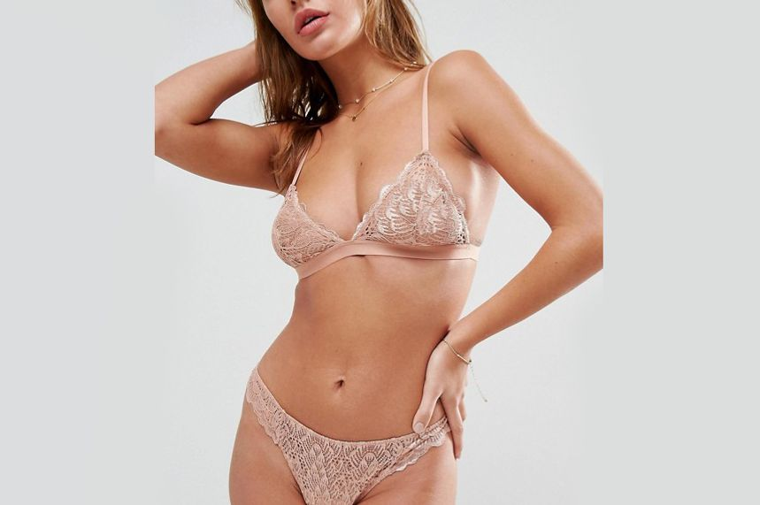 ASOS Rita Basic Lace Mix & Match Triangle Bra