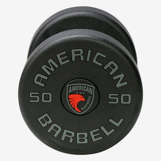 American Barbell Series 1 Urethane Dumbbell Set: 5-50 lb.