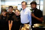 Mitt probably doesn't mind paying extra for guacamole.