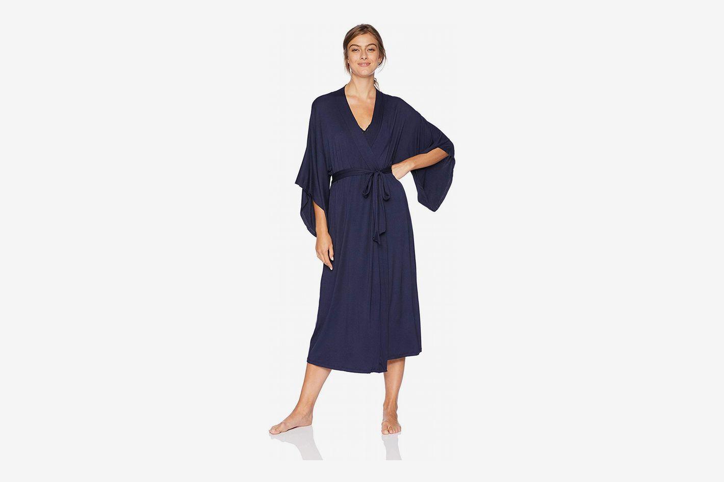Eberjey Women's Colette Madame Long Kimono Robe