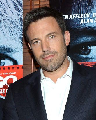 Actor Ben Affleck attends the