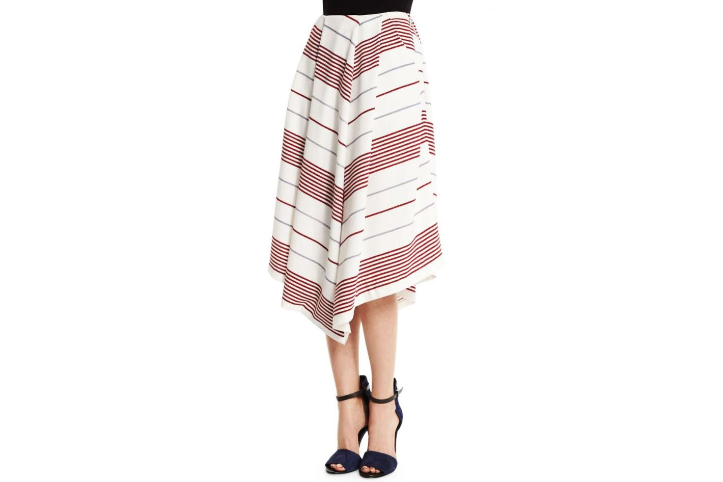 Elizabeth and James Watson Striped Skirt