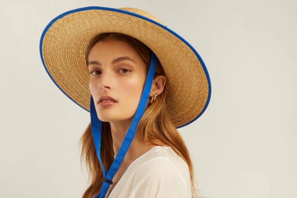 LOLA Hats Zorro wide-brim straw hat