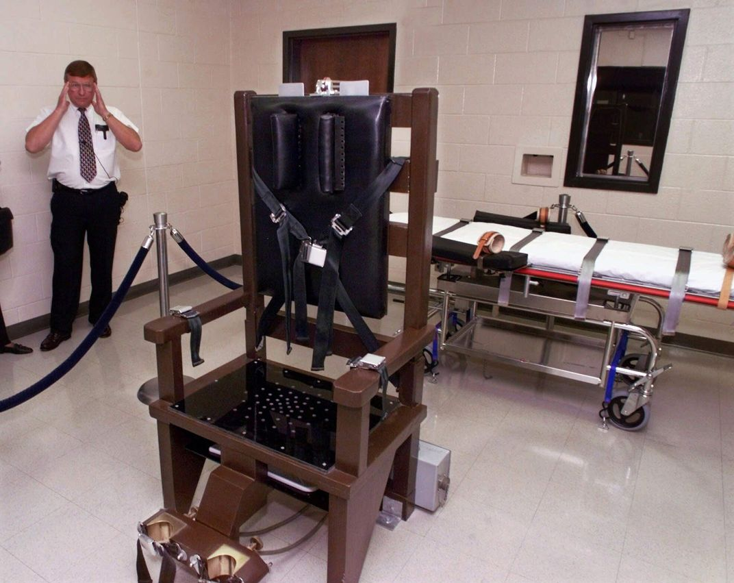 Real electric chair execution photos - Real Electric Chair Execution Photos 20