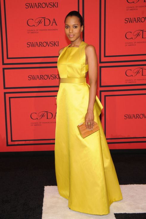 Actress Kerry Washington attends 2013 CFDA Fashion Awards at Alice Tully Hall on June 3, 2013 in New York City.