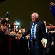 Bernie Sanders Campaigns In Atlantic City
