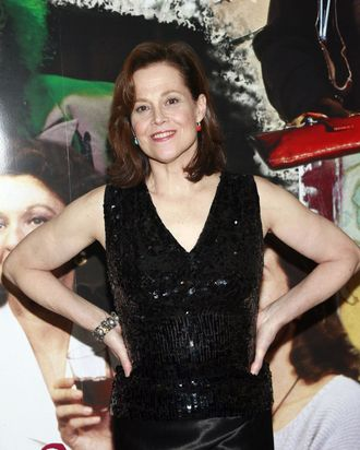 Sigourney Weaver at Opening Night Post Curtain Call Cast Photos for