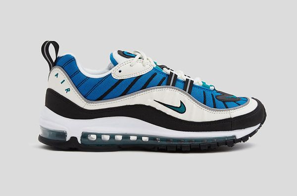 Nike Air Max 98 Shoe in Sail/Radiant Emerald