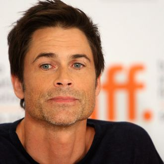 TORONTO, ON - SEPTEMBER 14: Actor Rob Lowe speaks onstage at the