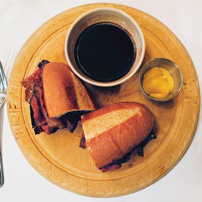 Minetta Tavern's new French Dip.
