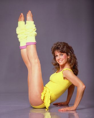 my magical week of working out with jane fonda. Black Bedroom Furniture Sets. Home Design Ideas