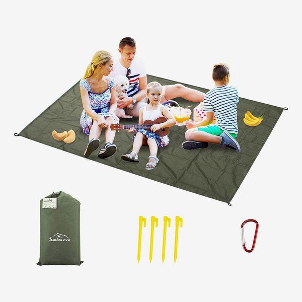 Likorlove Outdoor Picnic Waterproof Blanket 80