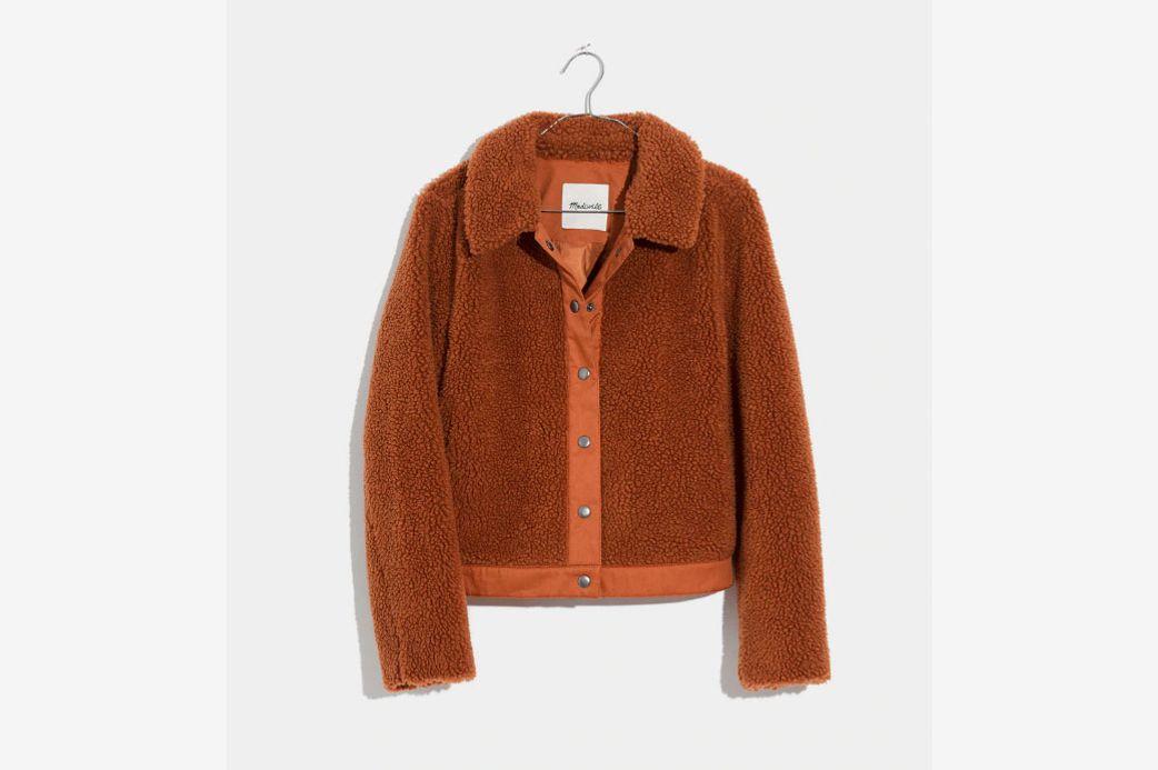 Madewell Sherpa Portland Jacket