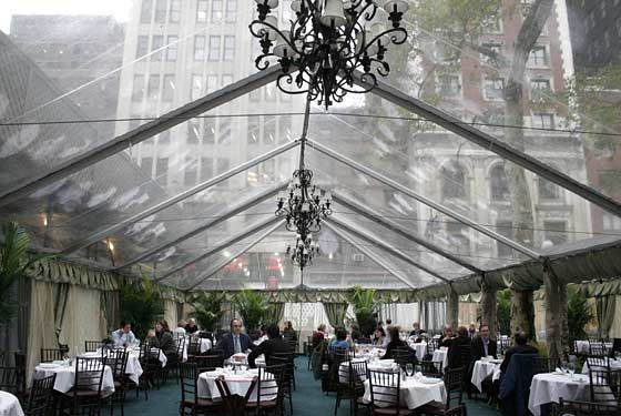 Bryant Park Grill in New York.