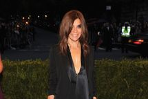 "NEW YORK, NY - MAY 07: Carine Roitfeld attends the ""Schiaparelli And Prada: Impossible Conversations"" Costume Institute Gala at the Metropolitan Museum of Art on May 7, 2012 in New York City.  (Photo by Larry Busacca/Getty Images)"