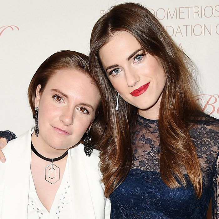 From Allison Williams, to Lena Dunham's endometriosis.