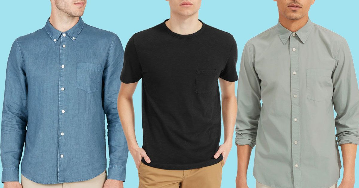 32f524a213820 A Bunch of Everlane Men's Shirts and Tees Are on Sale for Up to 60 Percent  Off