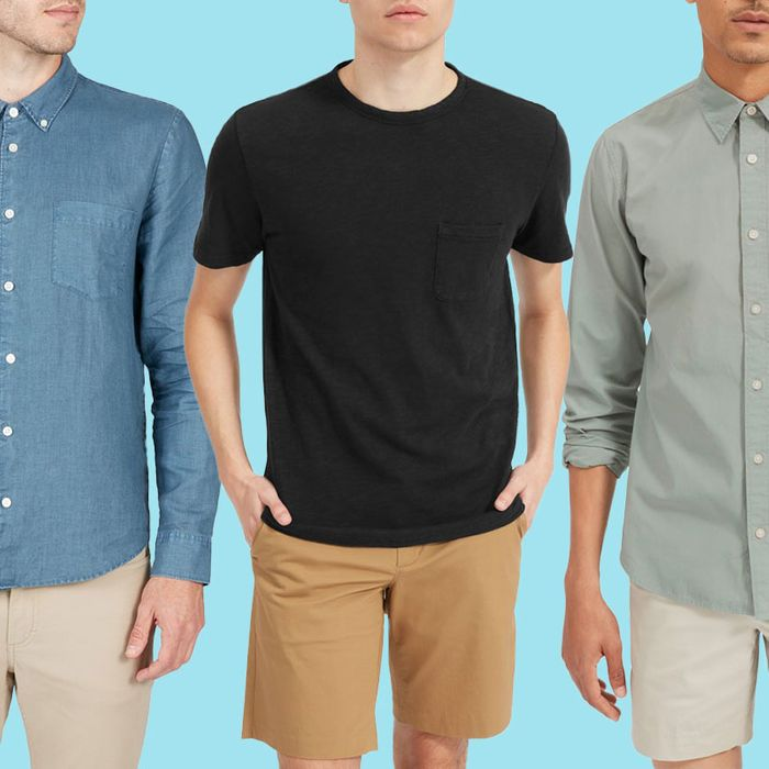 97f14cfa A Bunch of Everlane Men's Shirts and Tees Are on Sale for Up to 60 Percent  Off