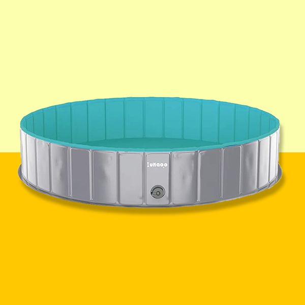 Lunaoo Foldable Pool for Dogs and Kids