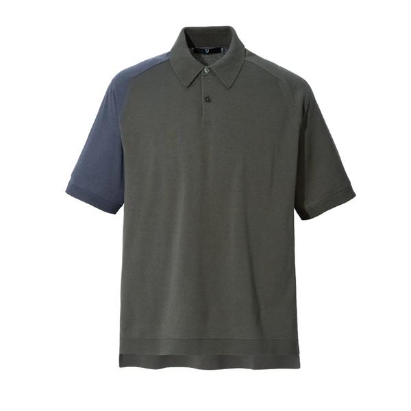 Uniqlo J+ Silk-Cotton Knitted Short-Sleeve Polo Shirt