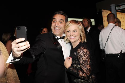 Bassem Youssef, Amy Poehler==TIME 100 GALA: TIME'S 100 MOST INFLUENTIAL PEOPLE IN THE WORLD==Jazz at Lincoln Center, NYC==April 23, 2013==?Patrick McMullan==Photo - CLINT SPAULDING/PatrickMcMullan.com====