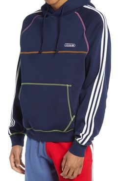 Adidas Originals Men's Contrast Stitch Hoodie