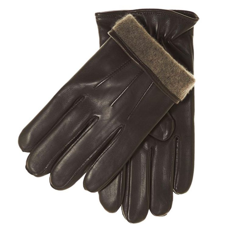Fratelli Orsini Everyday Men's Italian Lambskin Cashmere Lined Winter Leather Gloves
