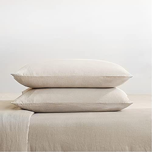 Bedsure French Linen Sheet Set