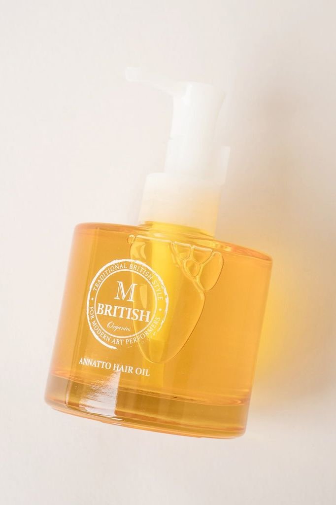 British M Organics Annatto Hair Oil