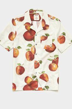 Todd Snyder x John Derian Apple Print Shirt