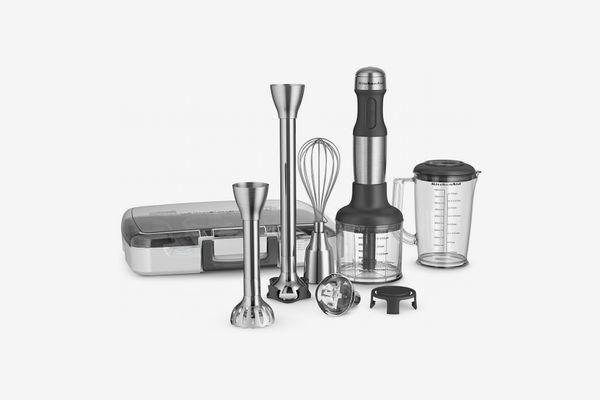 KitchenAid KHB2571SX 5-Speed Hand Blender - Brushed Stainless Steel
