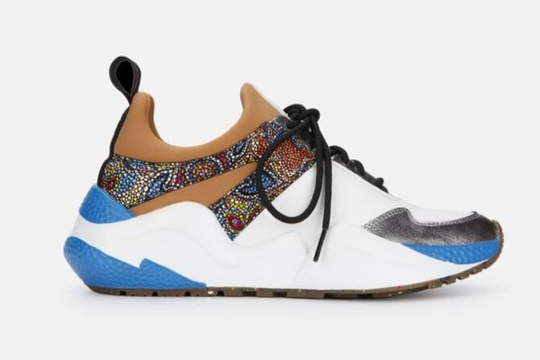 Kenneth Cole Maddox Resource Jogger Sneaker in Blue Multi