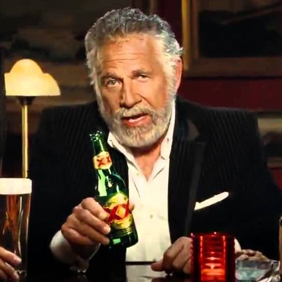 say good bye to the most interesting man in the world