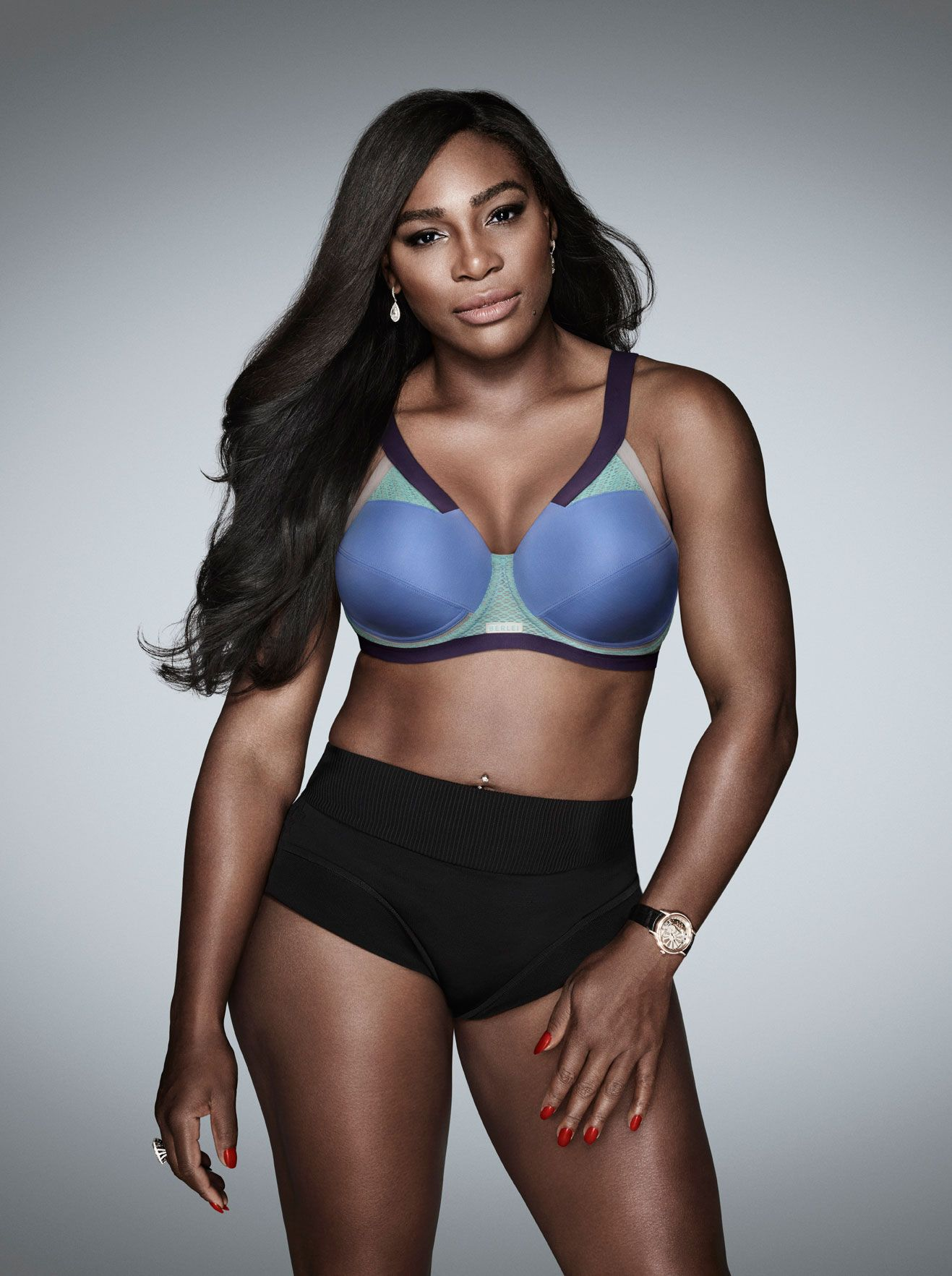 Serena Williams's Sports Bras Are Great for Big Boobs