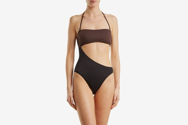Solid & Striped The Cece Cutout Bandeau Swimsuit